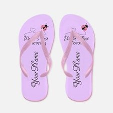 Worlds Best Mommy Flip Flops