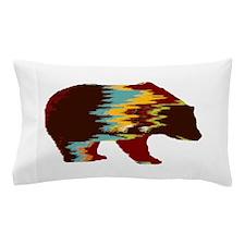 Artistic Rustic Bear Pillow Case