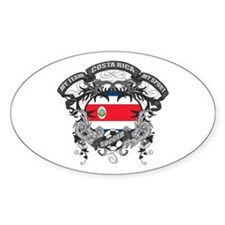Costa Rica Soccer Decal