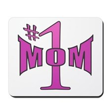 Number one mom p Mousepad