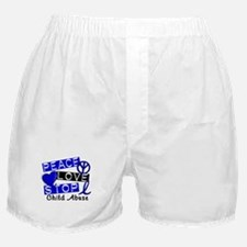 Peace Love Stop Child Abuse 1 Boxer Shorts