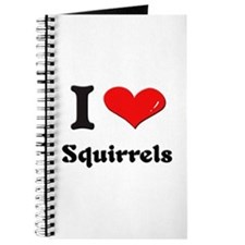 I love squirrels Journal