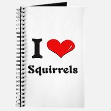 I love squirrels Journal