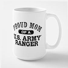 Army Ranger Mom Large Mug