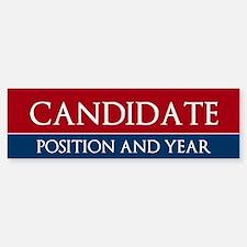 Custom Political Bumper Bumper Bumper Sticker