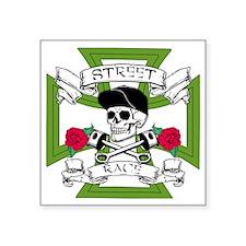"STREET RACE Square Sticker 3"" x 3"""