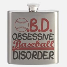 Funny Baseball Flask