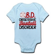 Funny Baseball Infant Bodysuit