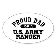 Army Ranger Dad Decal