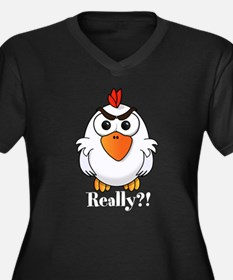 Angry Chicken Plus Size T-Shirt