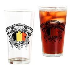 Belgium Soccer Drinking Glass