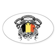 Belgium Soccer Decal
