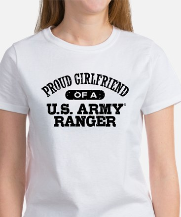 Army Ranger Girlfriend Women's T-Shirt