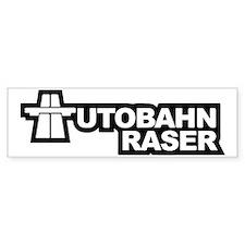 AUTOBAHN RASER Bumper Sticker