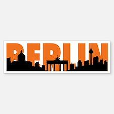 BERLIN SKYLINE Bumper Bumper Sticker