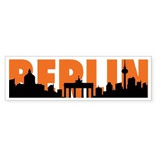 BERLIN SKYLINE Bumper Sticker