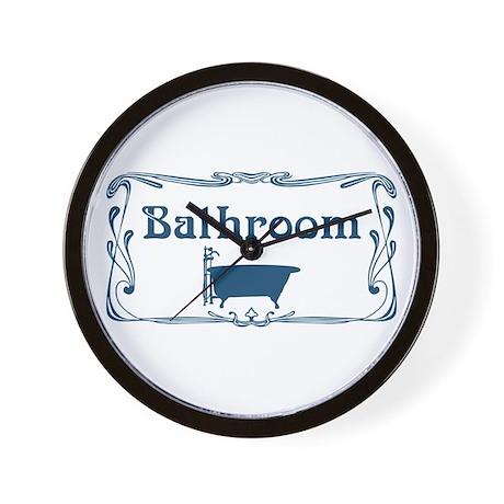 Victorian bathroom wall clocks house decor ideas for Bathroom clock ideas