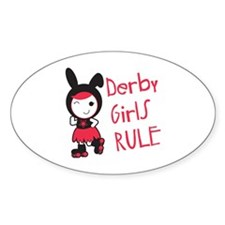 Derby Girls Rule Decal