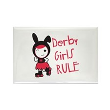 Derby Girls Rule Magnets