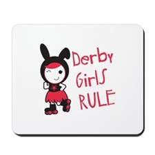 Derby Girls Rule Mousepad