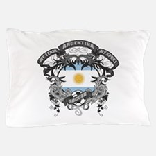 Argentina Soccer Pillow Case