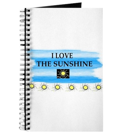 I LOVE THE SUNSHINE Journal