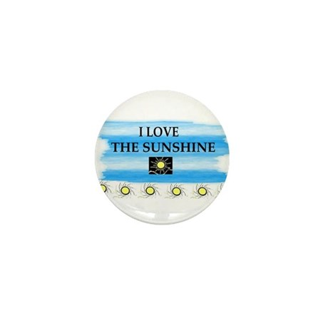 I LOVE THE SUNSHINE Mini Button (10 pack)