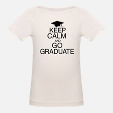 Keep Calm and Go Graduate Tee