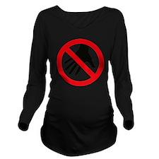 HÄNDE WEG Long Sleeve Maternity T-Shirt