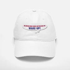 Wake Up Baseball Baseball Cap