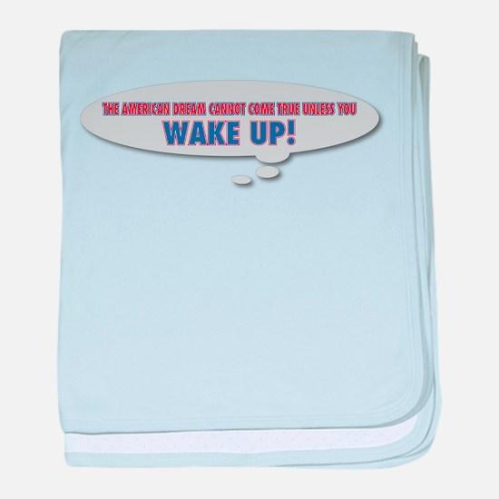Wake Up baby blanket
