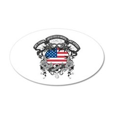 American Soccer Wall Decal