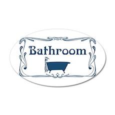 Victorian Bathroom Sticker Wall Decal