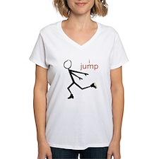 i spin, i jump Ice Skating Shirt