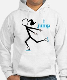 i spin, i jump Ice Skating Hoodie