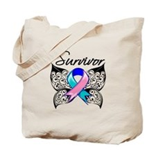 Survivor Thyroid Cancer Tote Bag