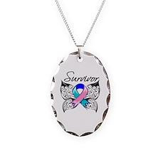 Survivor Thyroid Cancer Necklace