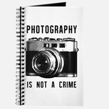 Photography Is Not A Crime Journal