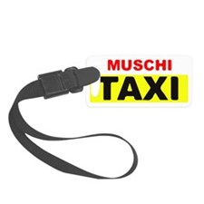 MUSCHI TAXI Luggage Tag