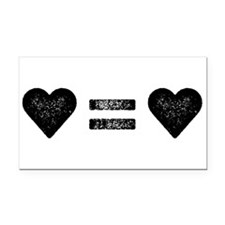 Funny Marriage equality Rectangle Car Magnet