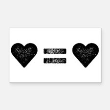 Unique Marriage equality Rectangle Car Magnet