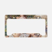 Renoir Les Grandes Baigneuses License Plate Holder