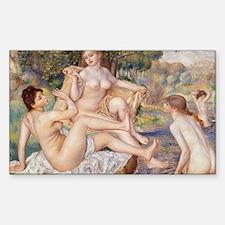 Renoir Les Grandes Baigneuses Decal