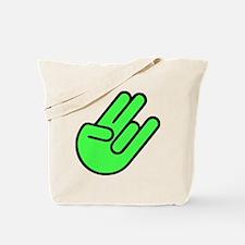 SHOCKERHAND GRÜN Tote Bag