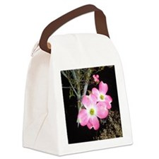 Pink Dogwood 2 by GG Burns Canvas Lunch Bag