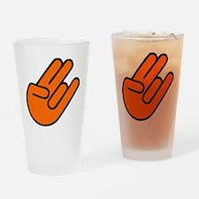 SHOCKERHAND ORANGE Drinking Glass