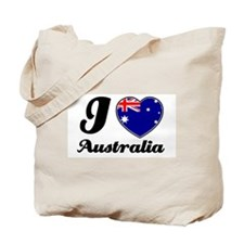 I love Australia Tote Bag