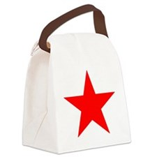 ROTER STERN Canvas Lunch Bag