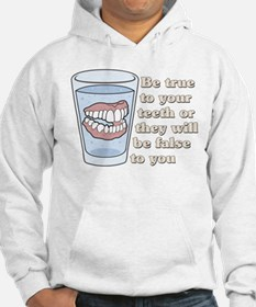 False Teeth Dentures Hoodie