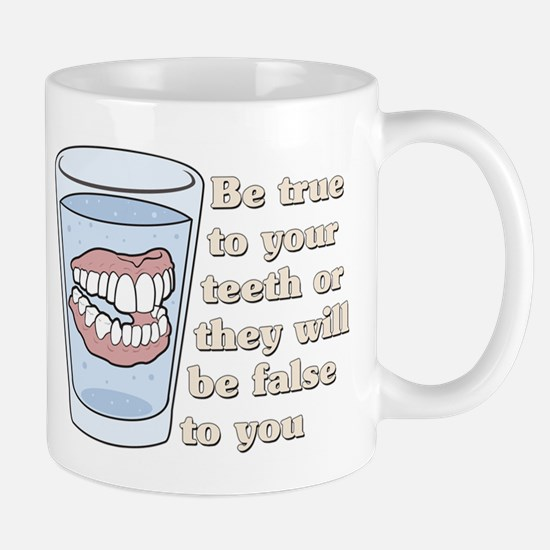 False Teeth Dentures Mug